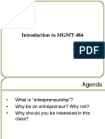 Session 2 - Fundamentals of Entrepreneurship