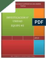 Investigacion 4 Unidad
