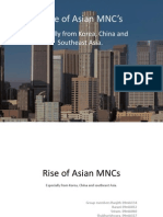 Rise of Asian MNCs