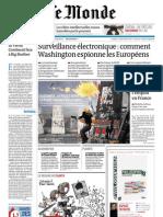 Le Monde Du Mercredi 12 Juin 2013 Pages 1 2 3