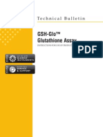 GSH-Glo Glutathione Assay Protocol