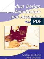 Product Design for Manufacture and Assembly- Third Edition by Geoffrey Boothroyd- Peter Dewhurst- Winston a. Knight
