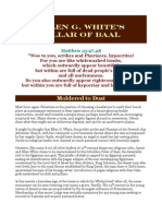 Ellen G. White's Pillar of Baal