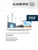 Chalmers Frequency Characteristics of Power Plants