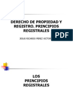Derecho de Propiedad y Registro