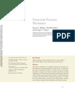 Nanoscale Fracture Mechanics
