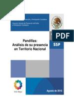 Inseguridad-SSP análisis de pandillas en MX