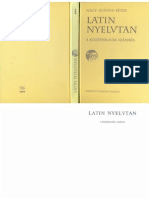 Nagy-Kováts-Péter - Latin nyelvtan