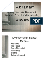 Jay Abraham May 2006 Presentation Slides