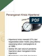 Penanganan Hipertensi Emergensi
