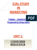 Unit 1- Consumer Behavior