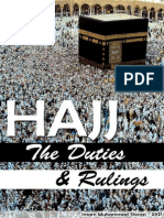 Hajj - The Duties and Rulings -Imam Muhammad Shirazi - XKP