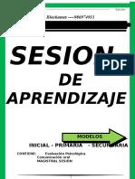 Sesion de Aprendizaje