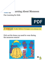 Fun Learning For Kids - Learning About Monsoon