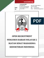 Form Oprec Phw Ismki Wilayah II 2013