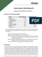 Protocol AxyPrep Blood Genomic DNA Miniprep
