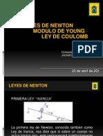 Analisis Leyes de Newton