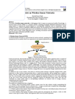 A Review on Wireless Sensor Networks