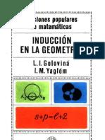 Induccion en La Geometria Lecciones Populares de Matematicas