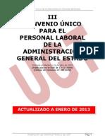 Libro III Convenio Único AGE con Esquemas revisado Enero 2013