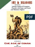 oD&D - Age of Conan