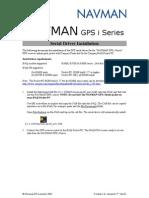 NAVMAN GPS i Series Install (Ver 3.1.1) Ver1.02