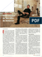 Juliao Sarmento, Um contador de bocados de histórias, Visao, 23 Março 2000