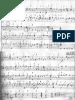 Lully - Ouverture de La Grotte de Versailles - Guitare Baroque - Manuscrit Hertzberg