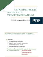 1-Regimul Nesimetric La Transformatoare