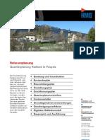 Paspels GR, Quartierplanung Radiend durch die HMQ AG