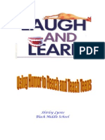 Laugh and Learn Using Humor to Reach and Teach Teens
