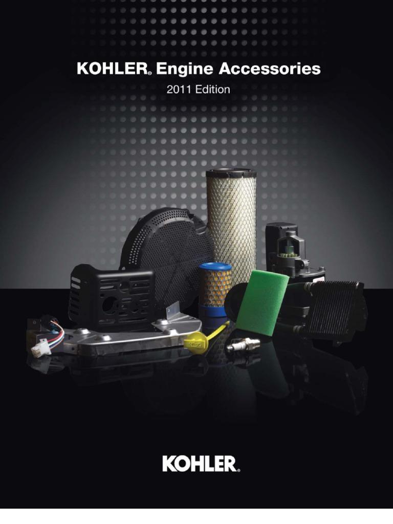 Kohler Engines Accessories Parts Catalog   Fuel Injection