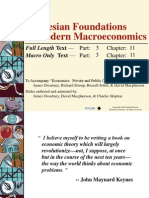 Keynesian vs Classical Macroeconomic Model