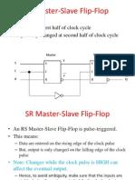 SR Master Slave Flip Flop