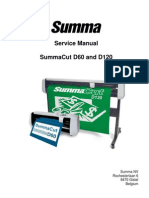 Summacut D60 Maintenance Manual