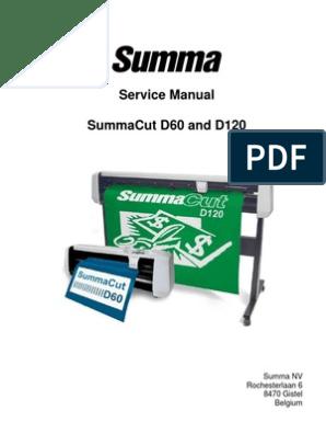 Summacut D60 Maintenance Manual | Electrical Connector