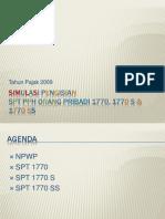 simulasi spt op2009