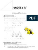 IV Bim - 4to. año - Bio - Guía 4 - Genética IV