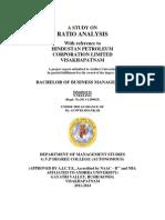 A Study on Ratio Analysis [Neelima]