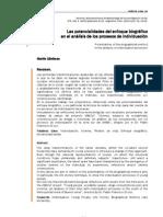 Las potencialidades del enfoque biográfico en el análisis de los procesos de individuación