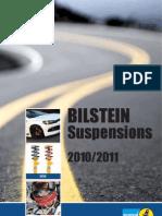 Bilestein Shock absorber Catalog