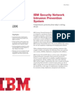 1IBM Security Network Intrusion Prevention System Datasheet