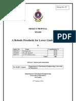 Project Proposal-robotic Prostheticdocx