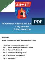 Woodman,Shakshober Performance Analys
