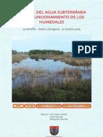 El papel del agua subterránea en el funcionamiento de los humedales