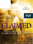 THE CLAIMED #Paranormal #Romance