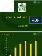 Economic and Fiscal Situation Latest