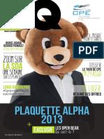 Plaquette Alpha 2013 Mini