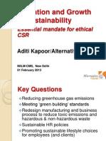 CSR Innovation- Aditi Kapoor