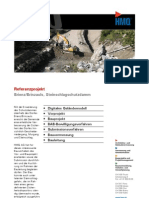 Brienz/Brinzauls GR, Referenzprojekt Steinschlagschutzdamm der HMQ AG